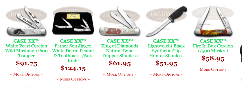 About DeadwoodKnives Homepage