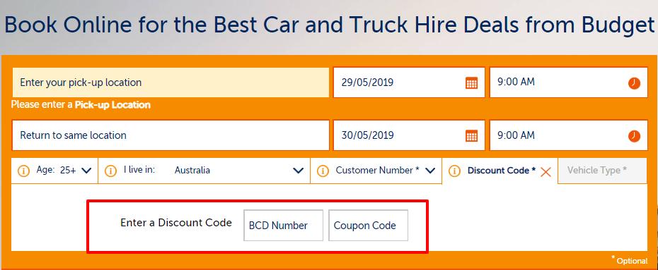 budget car rental coupon code 2019