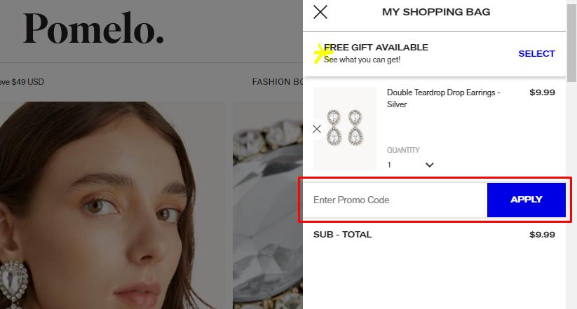 How do I use my Pomelo Fashion discount code?