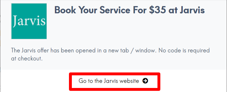 Jarvis Coupon LC Site