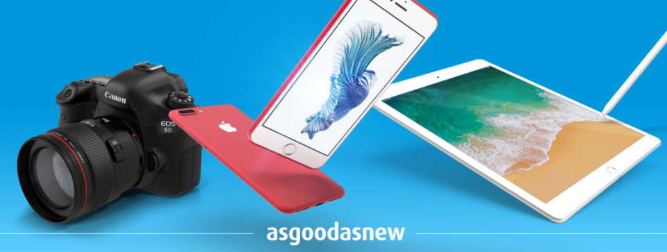 About asgoodasnew Homepage
