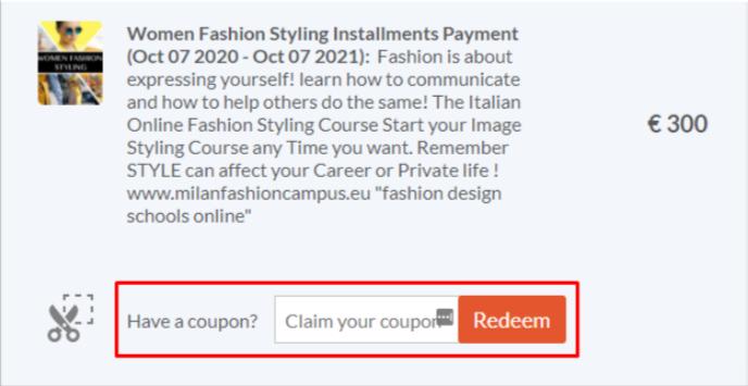 Milan Fashion Coupon Code
