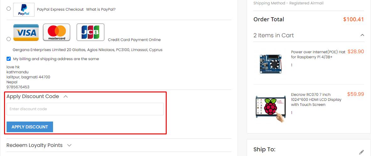 How do I use my Elecrow discount code?