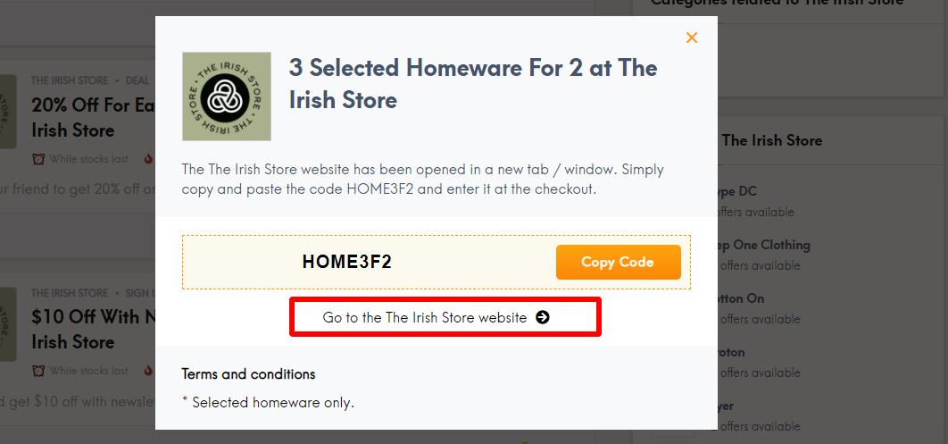 LC Codes Irish Store