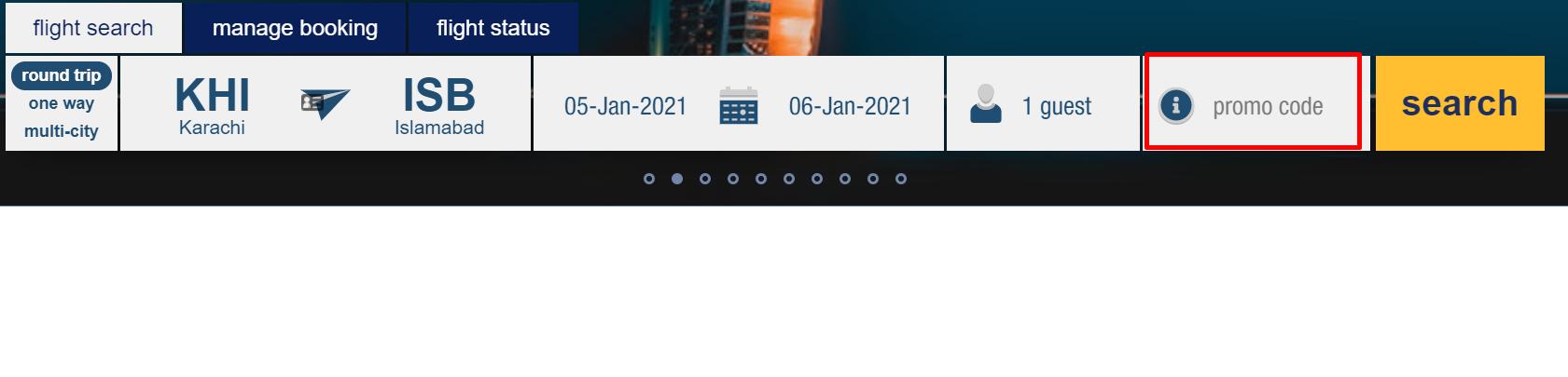 How do I use my Airblue promo code?