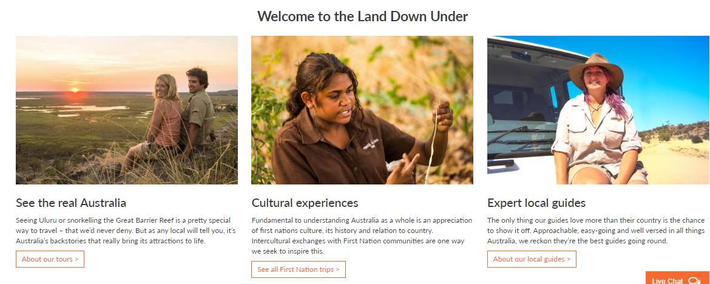 Adventure Tours Homepage