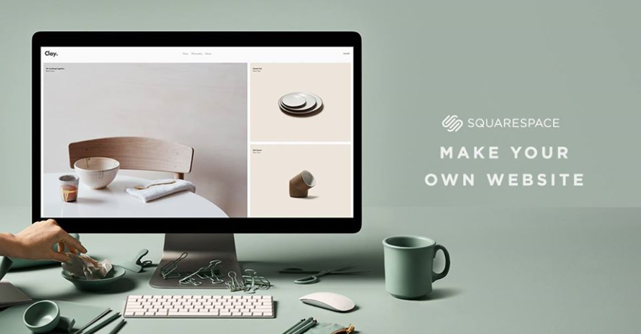 About Squarespace Homepage
