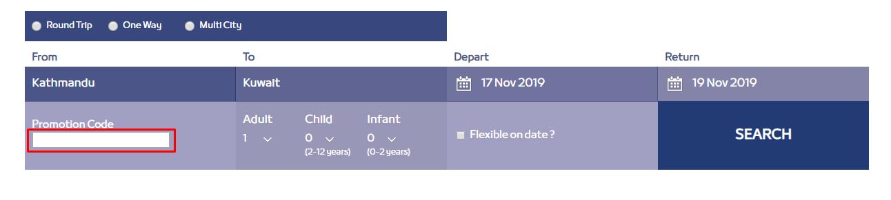How do I use my Jazeera Airways discount code?