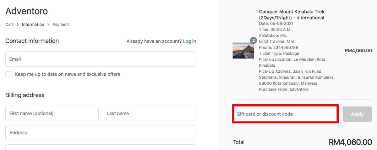 Adventoro Discount Code