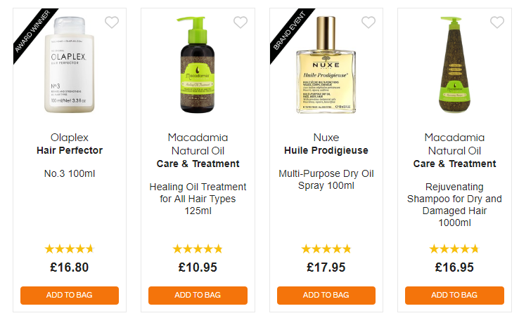 allbeauty Affordable Haircare Products