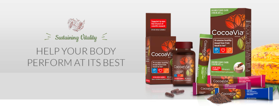 About CocoaVia Homepage