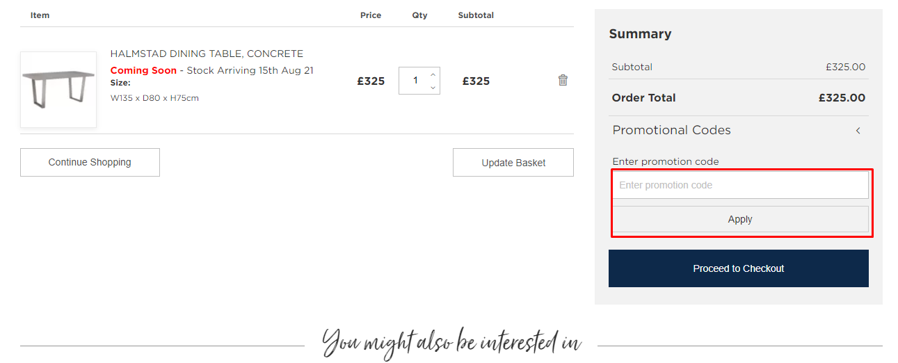How do I use my Barker and Stonehouse promotional code?