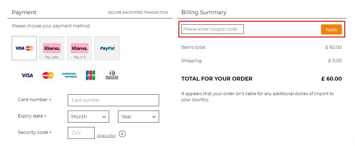 How do I use my Bombshell Sportswear coupon code?