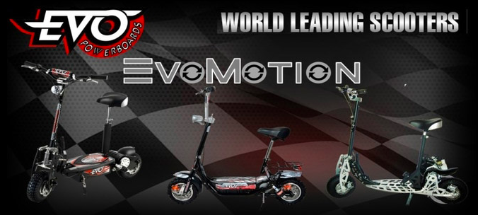 About EVO Scooters Homepage