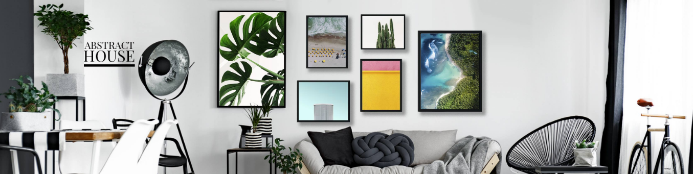 Abstract House Homepage
