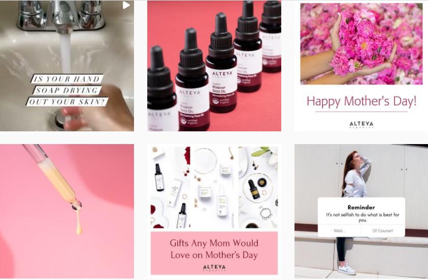 About ALTEYA organics Homepage