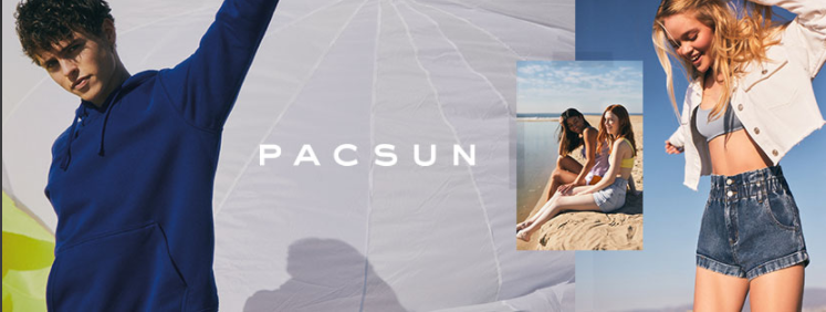 About PacSun Homepage