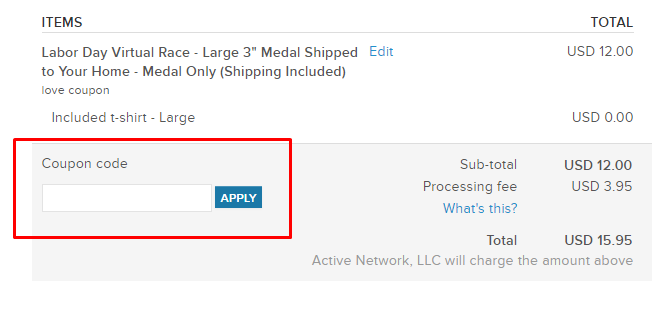 How do I use my Active coupon code?
