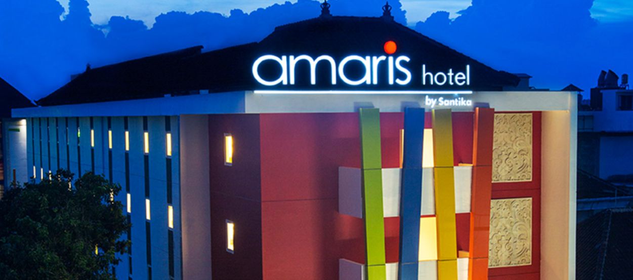 About Amaris Hotel Homepage