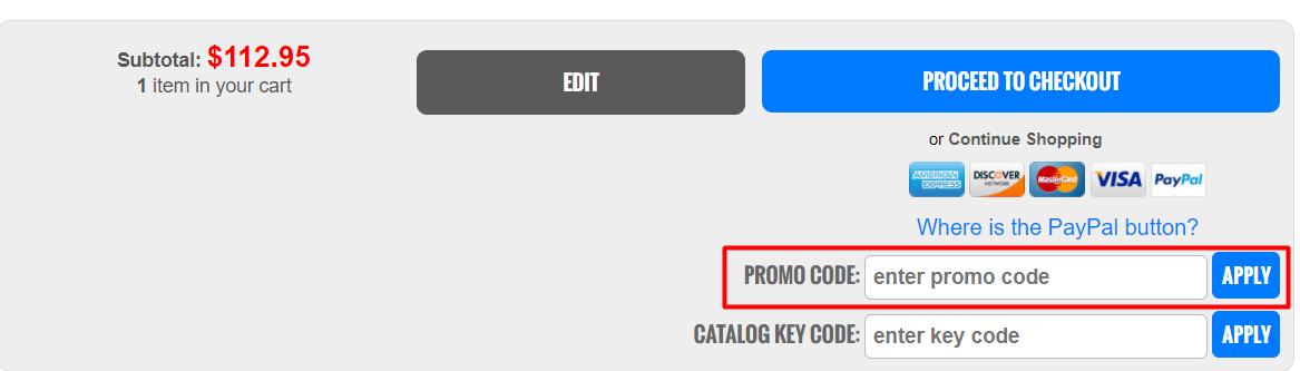 How do I use my Famous Smoke Shop promo code?