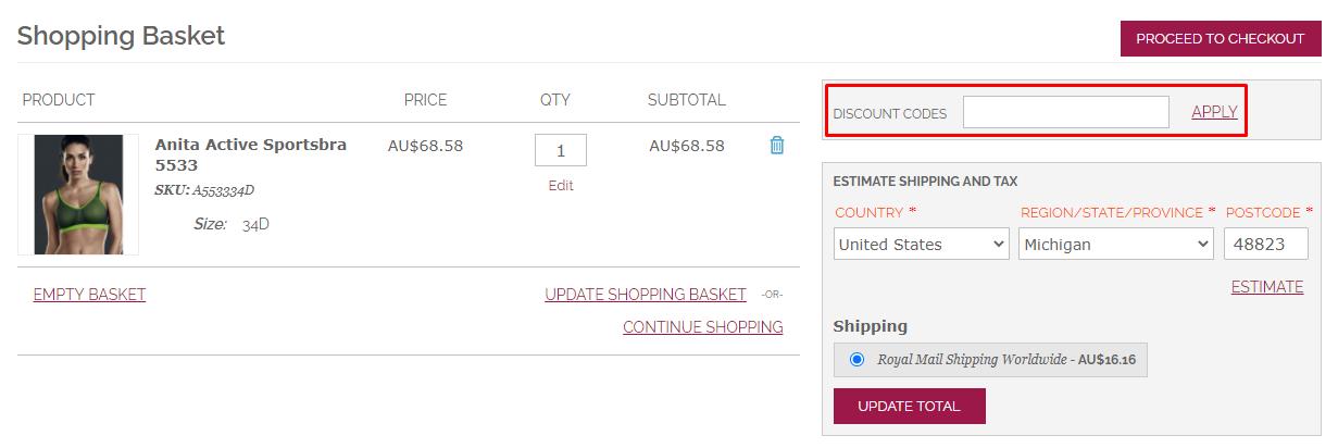 How Do I use my Envie4u discount code?