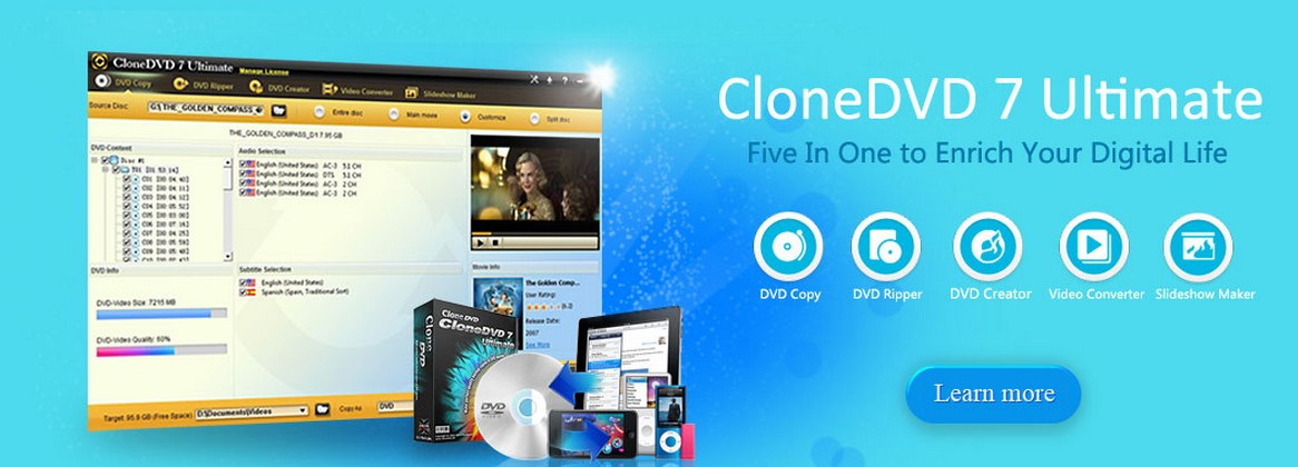 About CloneDVD Homepage