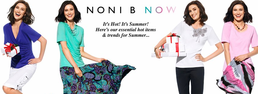 About Noni B Homepage