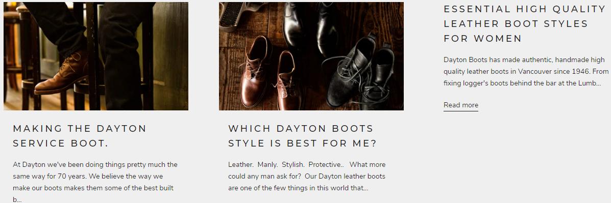 Dayton Blog