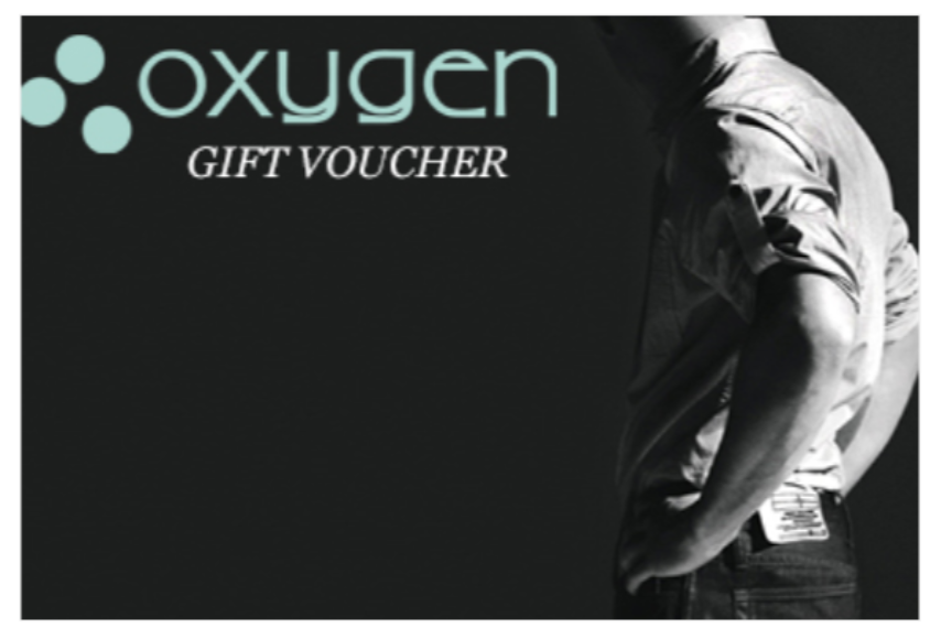 Gift Voucher Oxygen