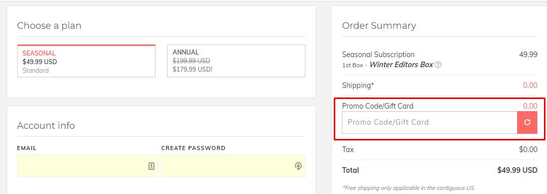 How do I use my Fabfitfun discount code?
