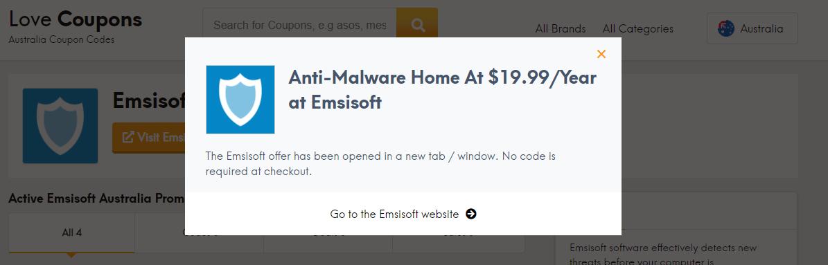 Emsisoft Offer