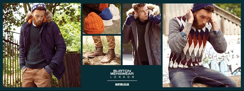 About Burton Menswear London Homepage