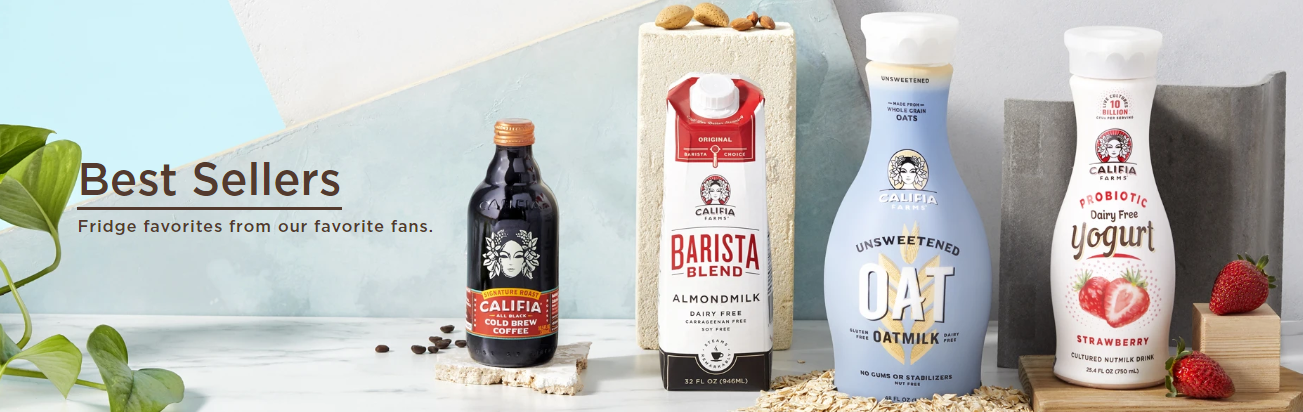 About Califia Farms Homepage