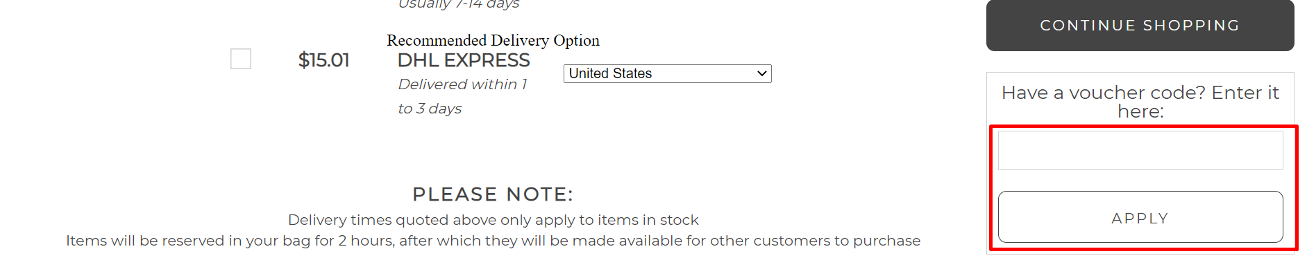 How do I use my Shade Station voucher code?