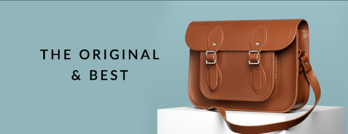 About The Cambridge Satchel Company Homepage