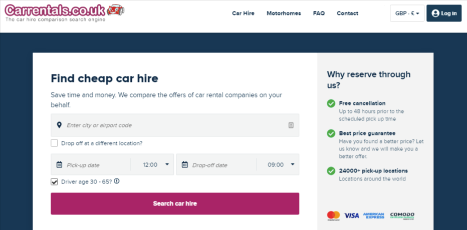 CarRental about us