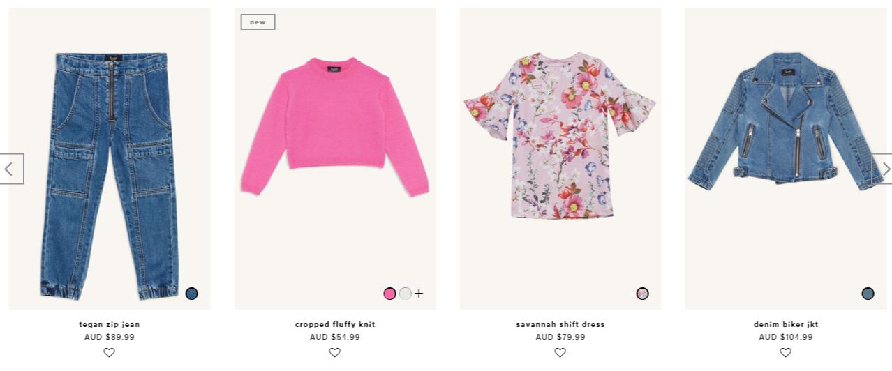 Bardot Junior Clothes