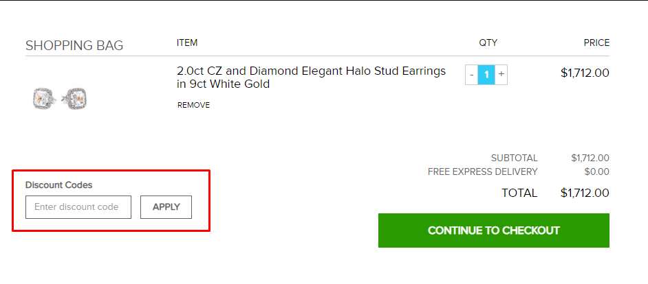 How do I use my Gold Boutique discount code?