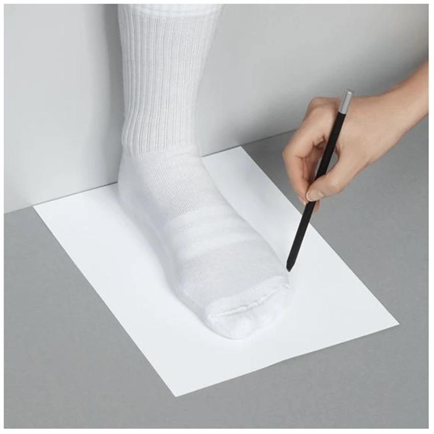 Aber Shoes 2 Foot Measurements