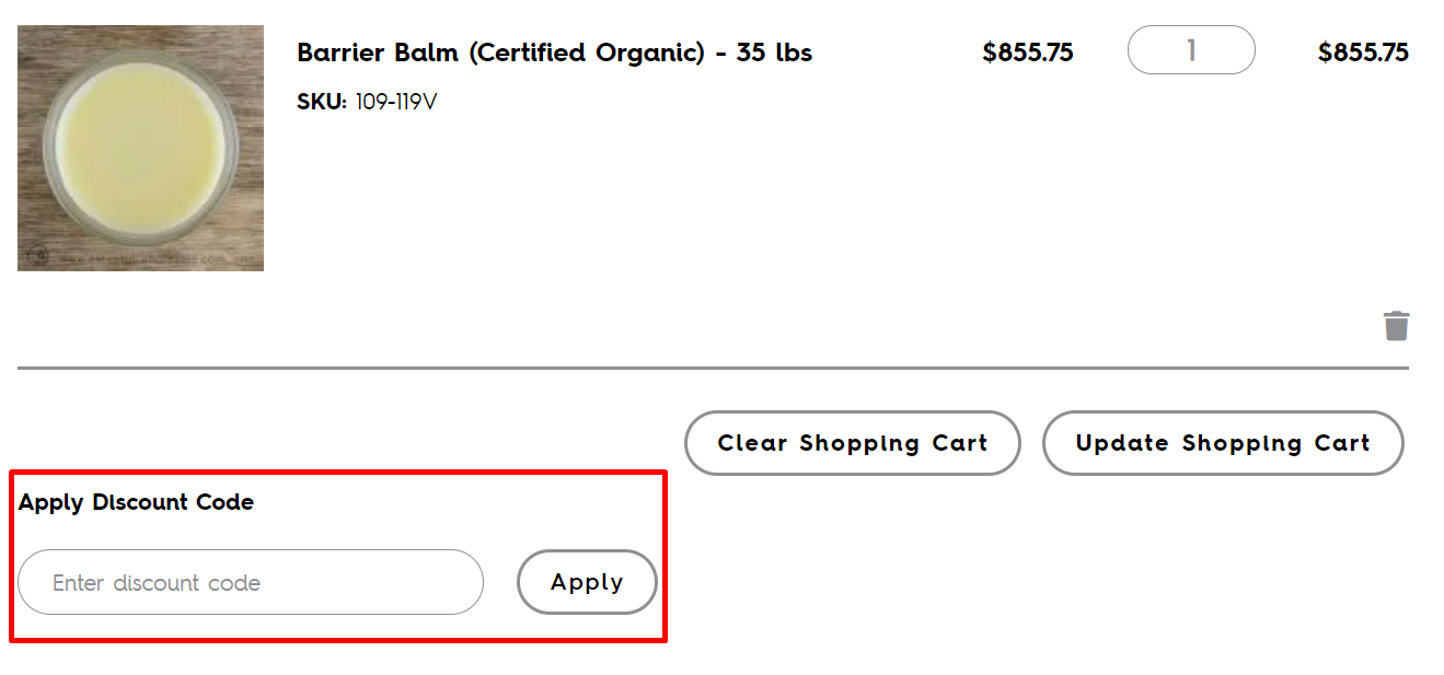 How do I use my Essential Wholesale & Labs discount code?
