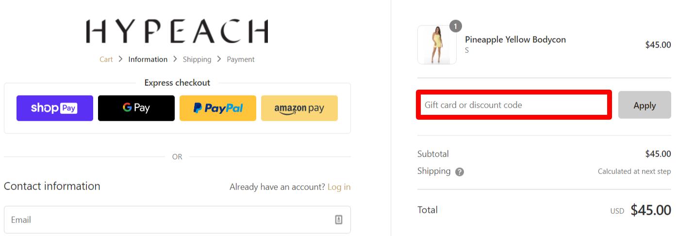 Hypeach Discount Code