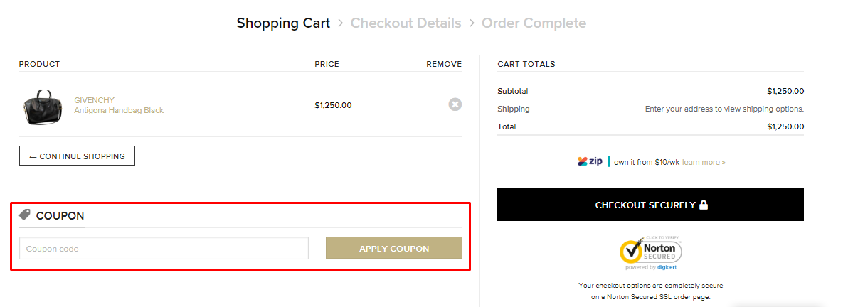 How do I use my Modsie discount code?