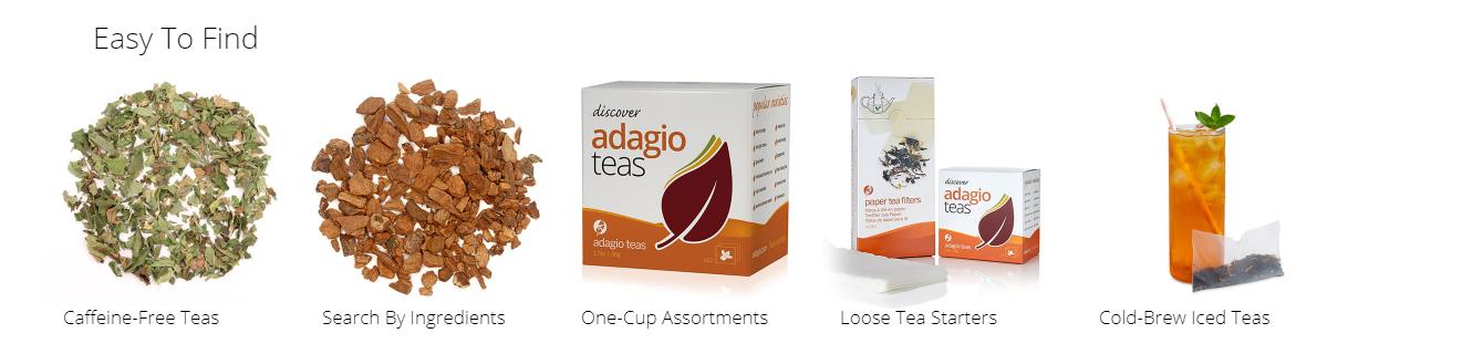 Adagios Teas easy to find