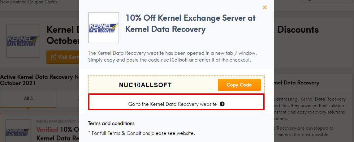 Kernel coup nz