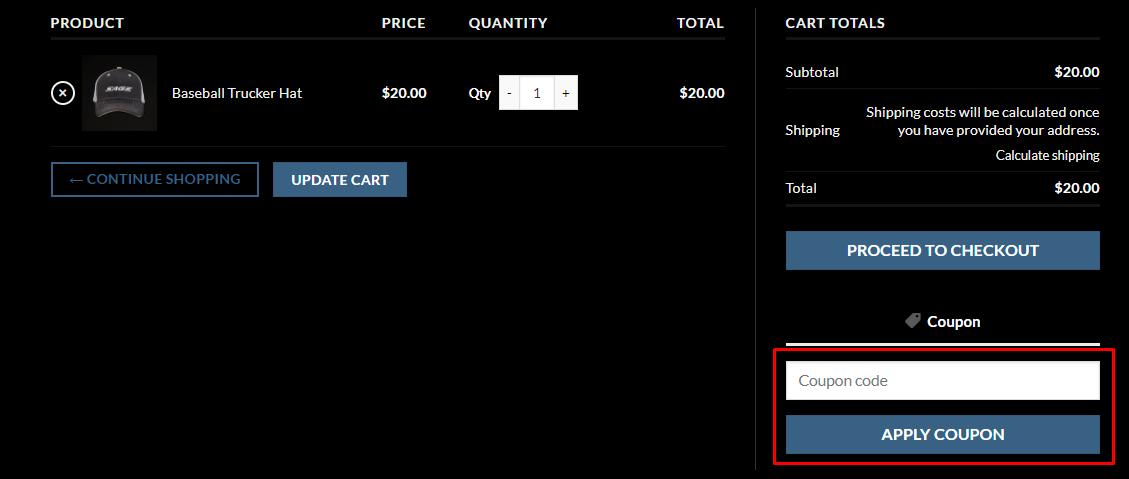 How do I use my Sage Titanium Bicycles coupon code?