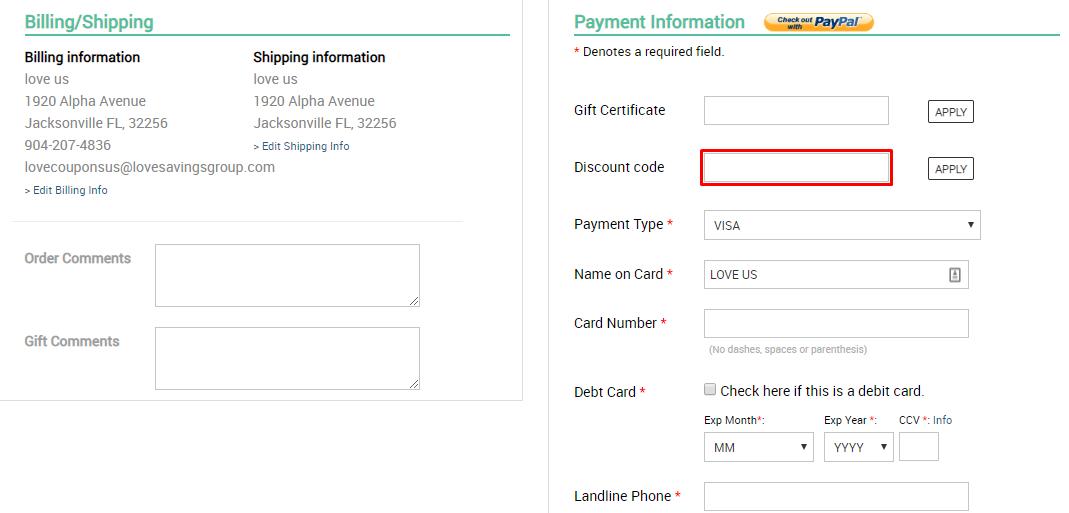 How do I use my aBaby.com discount code?