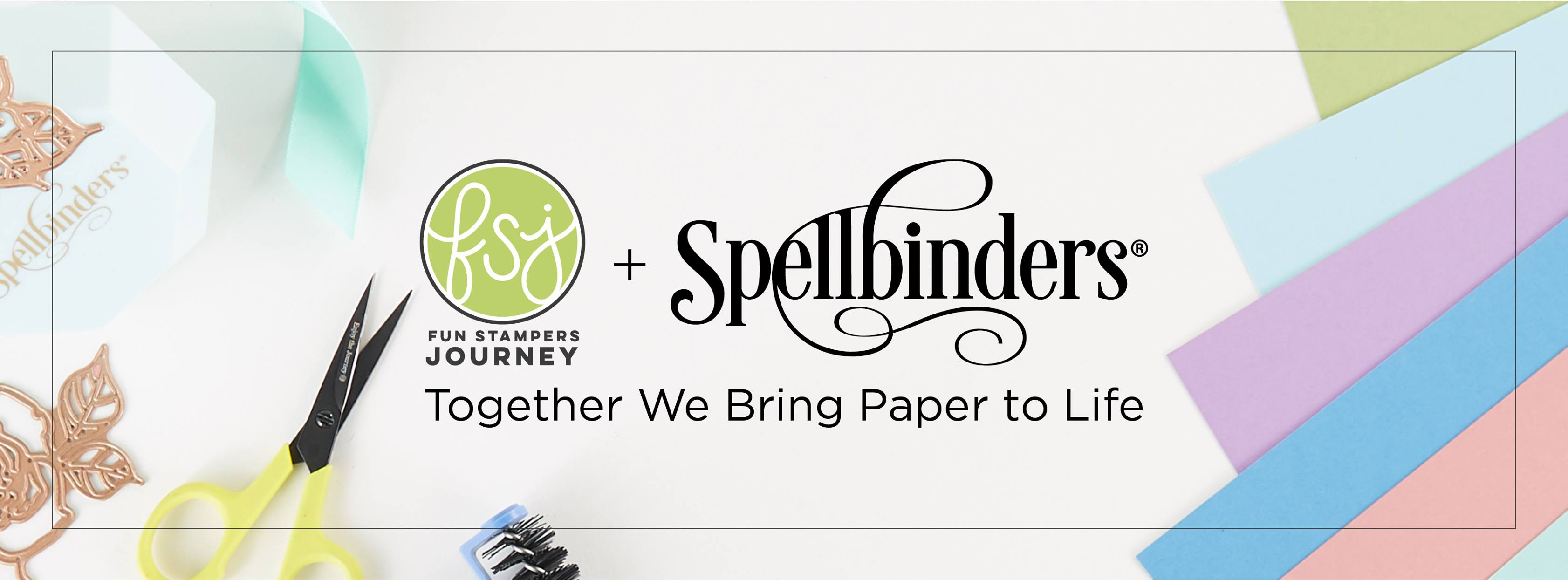 About Spellbinders Homepage
