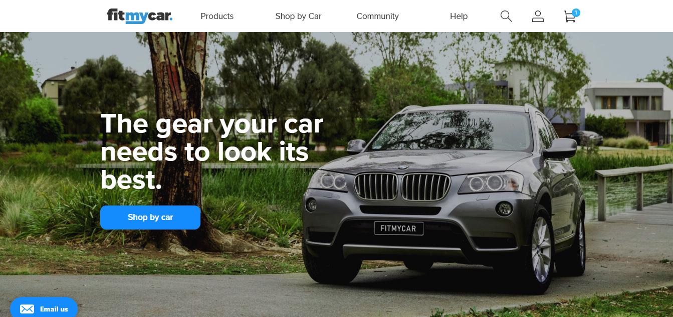 FitMyCar Homepage