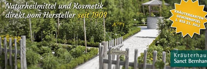 About Kräuterhaus Sanct Bernhard homepage