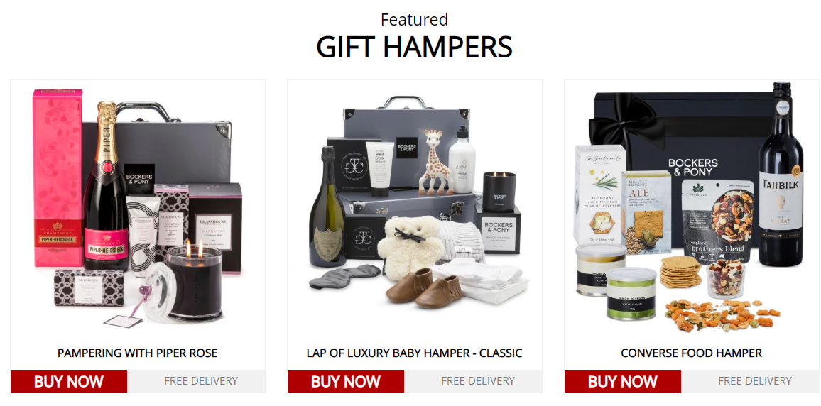 Bockers & Pony Featured Gift Hampers